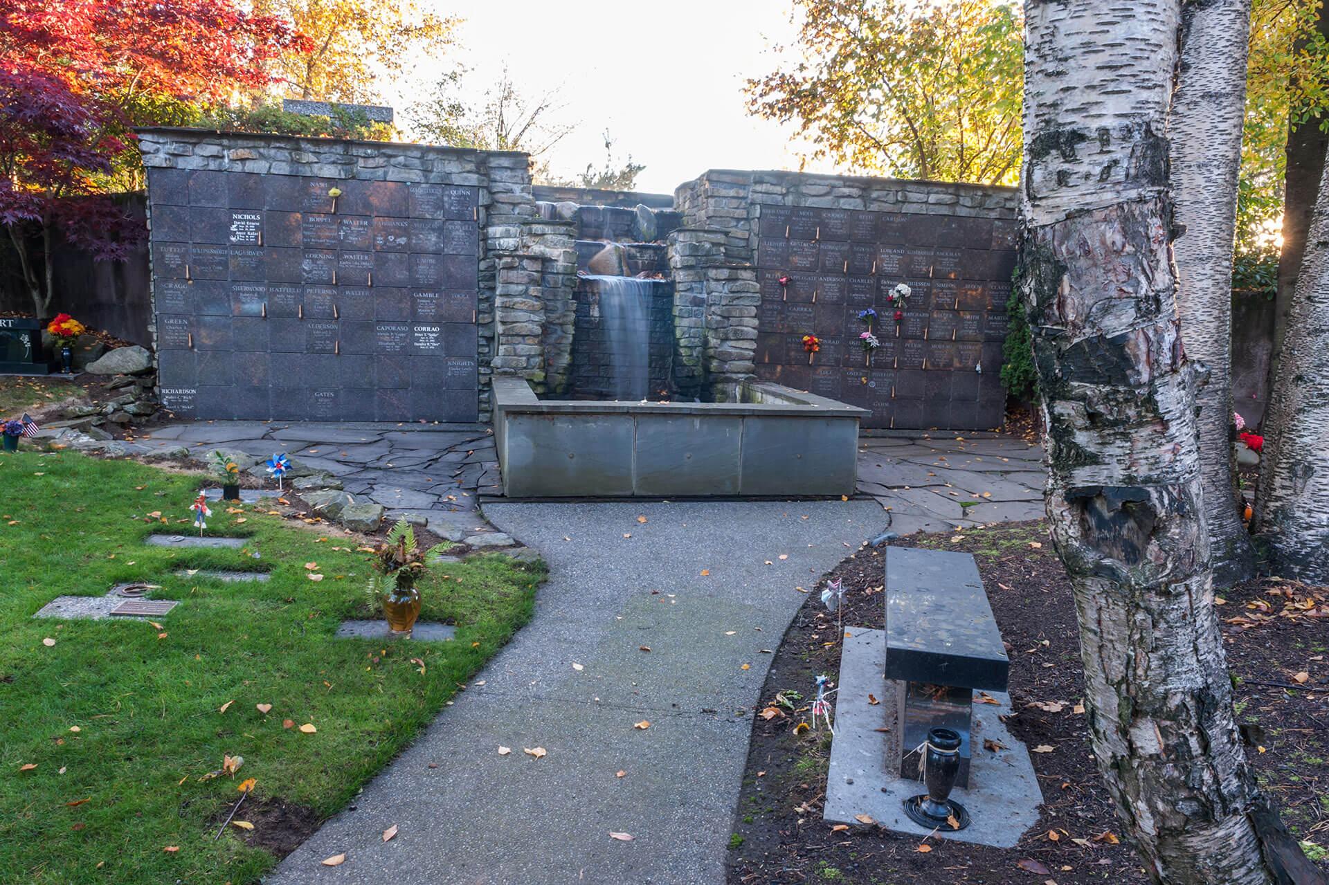 greenacres gallery 4 Waterfall columburium and cenotaph