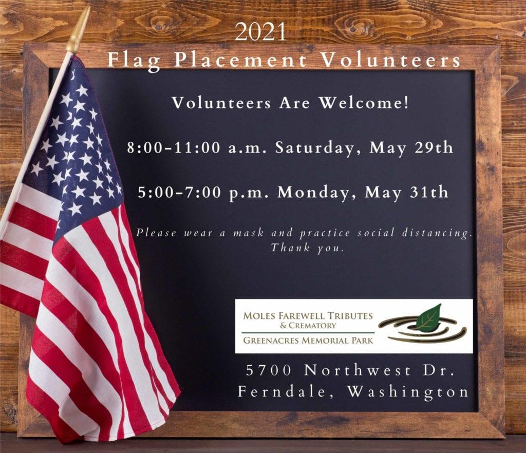 flag volunteers 040121 scaled 1024x882