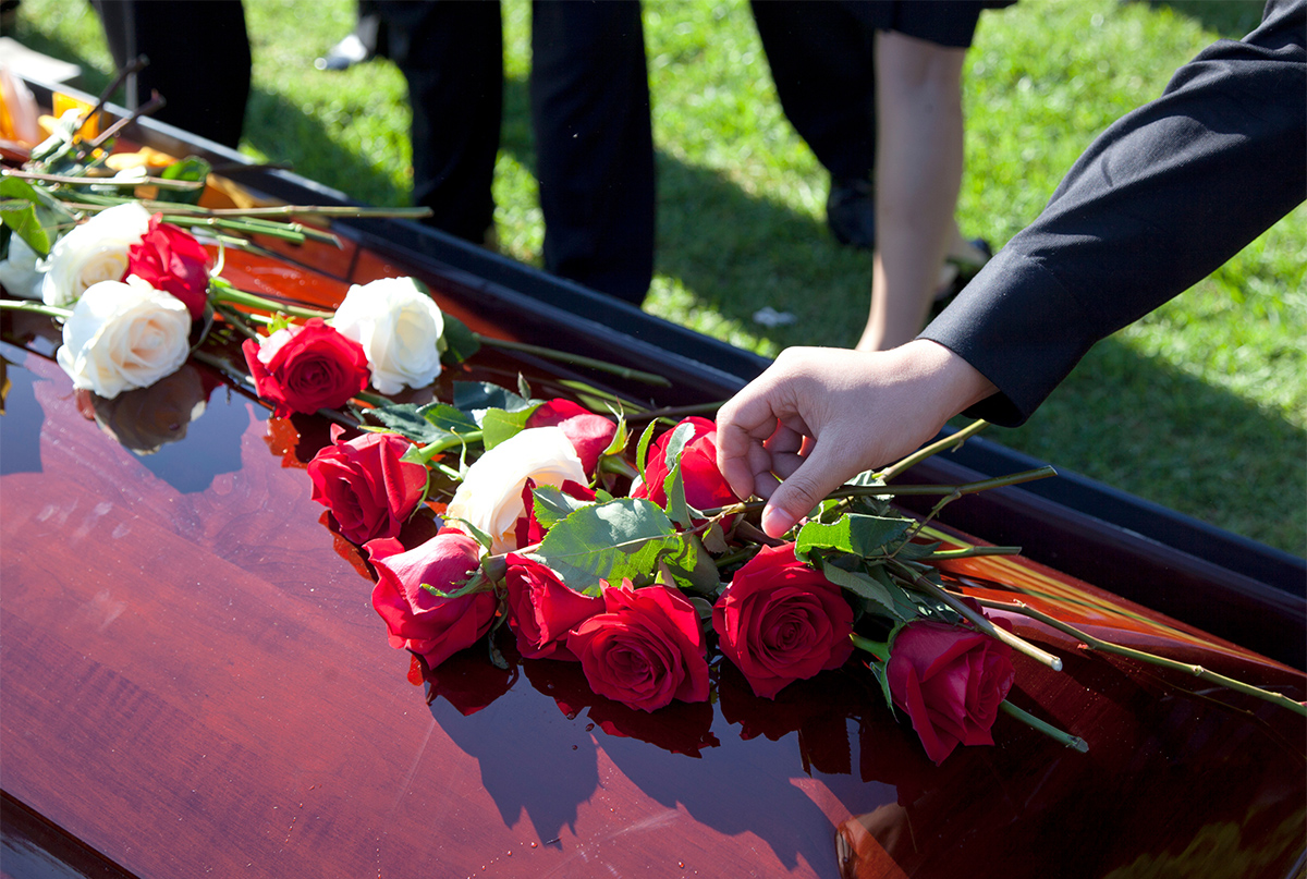 Burial services content