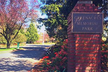 Greenacres Entrance